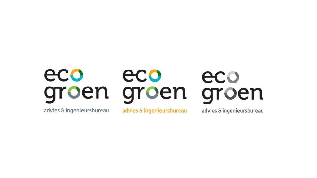 Eco Groen logos